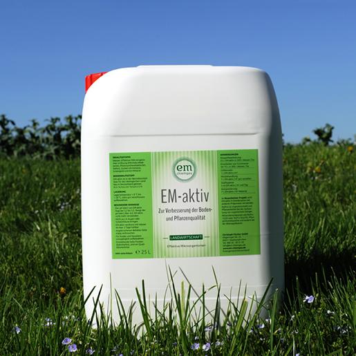 EM -aktiv Boden-Hilfstoff