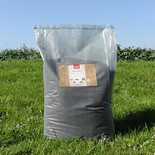 Karbofit - Ergänzungsfuttermittel mit Pflanzenkohle - QS zertifiziert