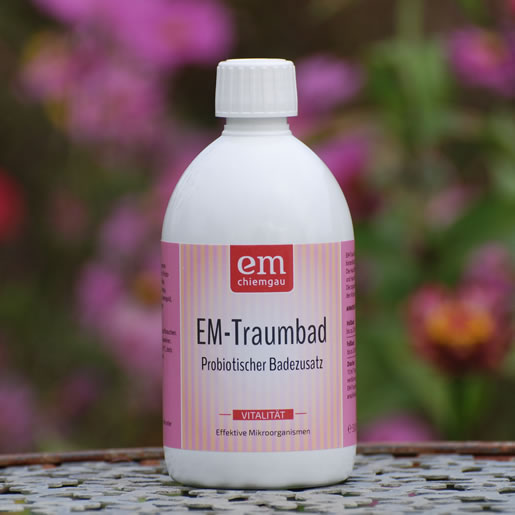 Effektive Mikroorganismen-EM-Traumbad-0,5-EM-Chiemgau-Regenerationsbad