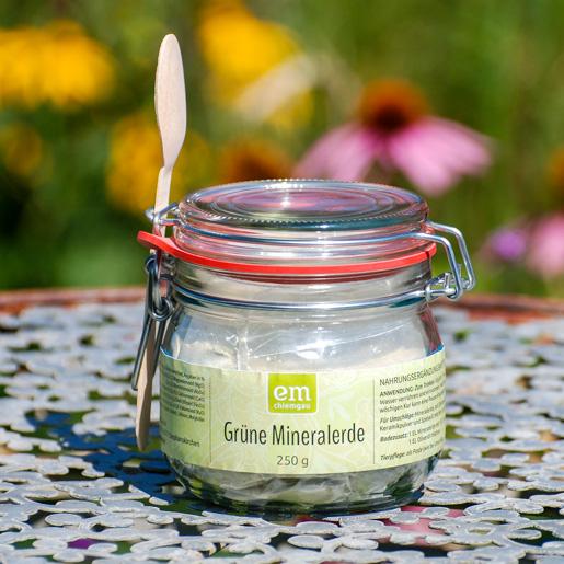 Grüne Mineralerde - Nahrungsergänzungsmittel