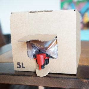bag-in-box-Inbetriebnahme-Hahn