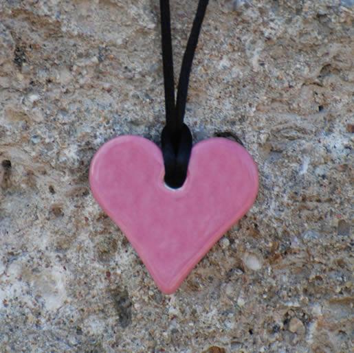 dunkelrosa-Herz