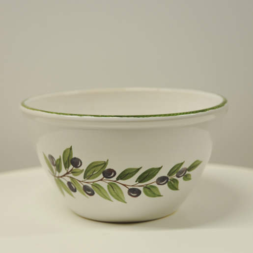 EM-Keramik-Schüssel-Olive