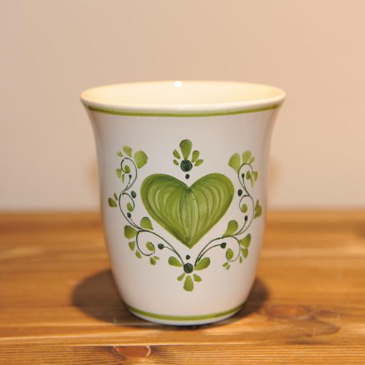 Ton Keramik Unterschied em kin keramik herzgrün