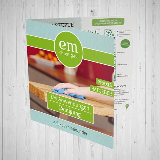Broschüre Reinigung Cover EM-Chiemgau