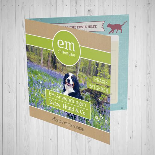 Broschüre Haustiere Cover EM-Chiemgau
