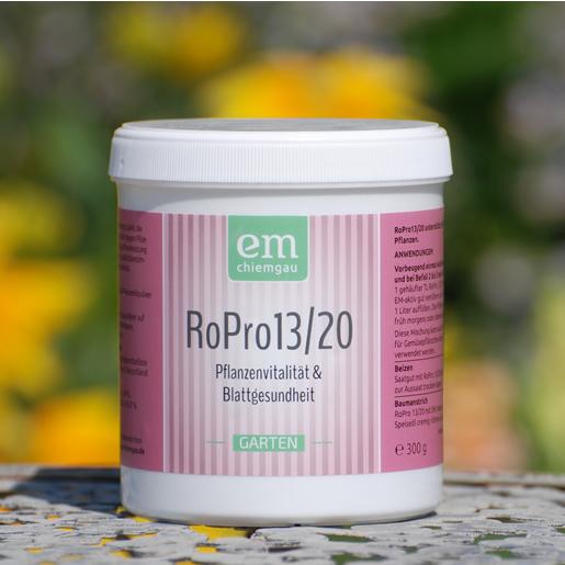 RoPro 13/20 - Pfalnzenstärkungs mittel zum Versprühen, Mehltau, Rosenrost, Pilzkrankheiten - gesunde Pflanzen - vorbeugend spritzen