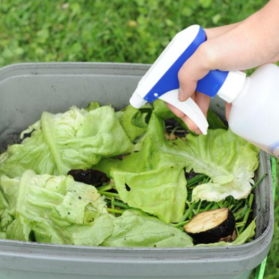 EM- Effektive Mikroorganismen Fermentieren von Küchenabfällen