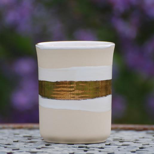 EYL-EM-Keramik-Krüge-Becher-gold-glänzend-EM-Chiemgau