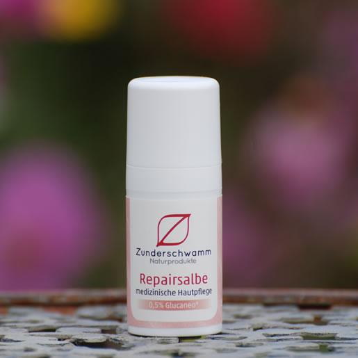 Zunderschwamm-Kosmetik-Repaircreme-15ml-Em-Chiemgau