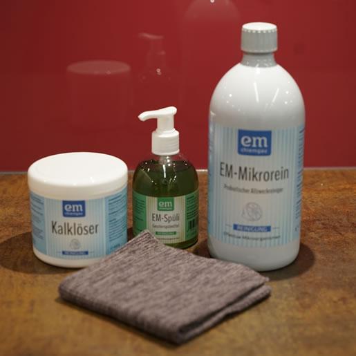 Probiotisch-reinigen-saubere-Sache-graues-Putztuch-bio-Baumwolle-EM-Chiemgaui