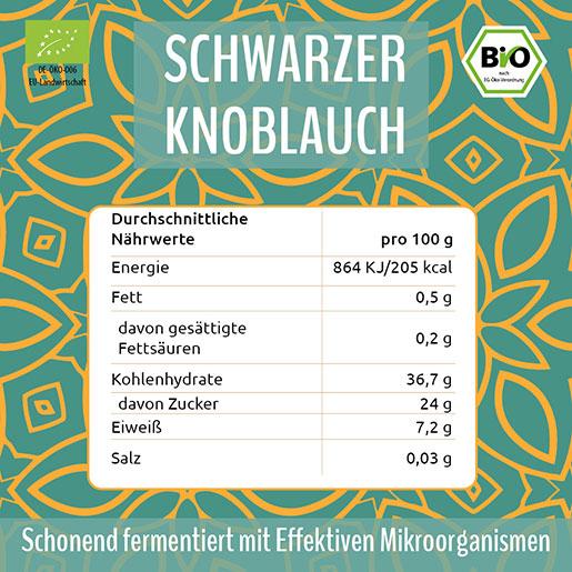 EM Chiemgau fermentierter schwarzer Knoblauch