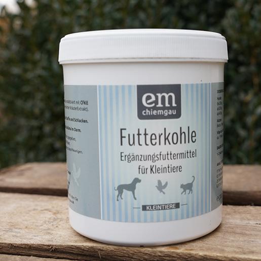 Futterkohle-Pflanzenkohle-Verdauung-Futtermittel-Ergaenzung für alle Kleintiere