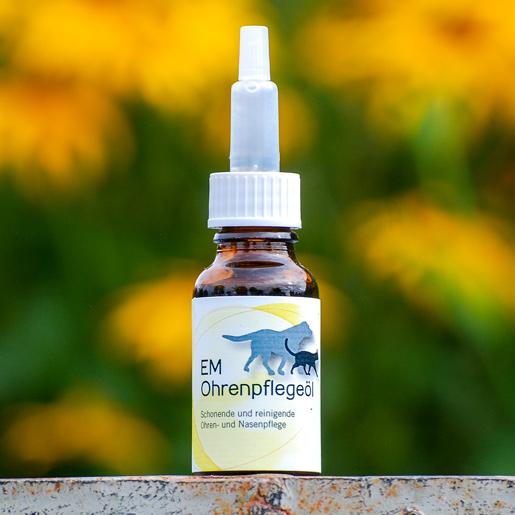 EMSanaVet Ohrenpflegeöl für Tiere bei EM-Chiemgau
