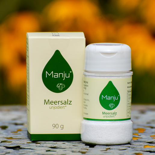 Manju Meersalz Dose 90g Packung EM-Chiemgau