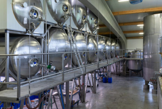 Stephanskirchen Produktion-EM-Chiemgau-Lagertanks