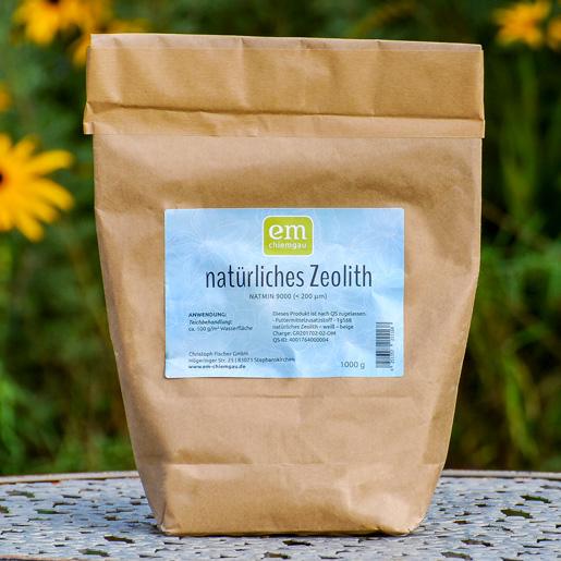 Zeolith-Gesteinsmehl 1kg zur Teichbehandlung von EM-Chiemgau