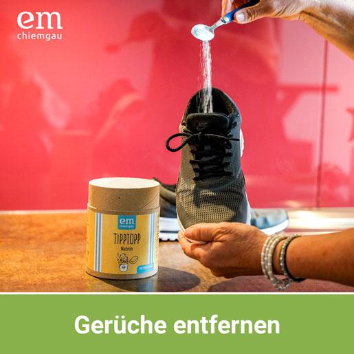 Gerüche in Schuhen effektiv mit Natron entfernen