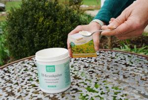 Aussaat-beizen-mit-EM-Keramikpulver-Vialisierung-von-Saatgut-EM-Chiemgau