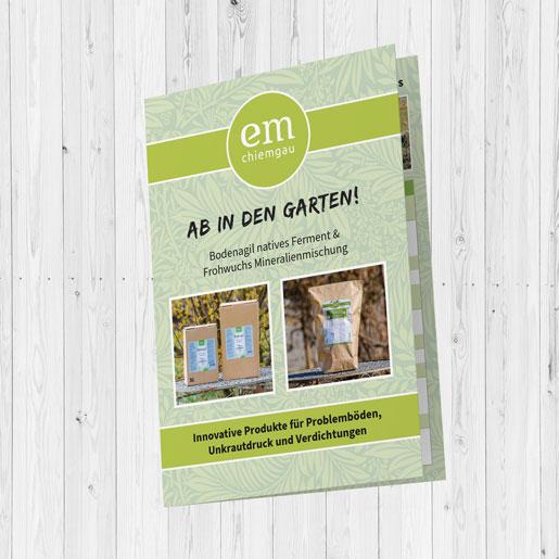 Flyer Bodenagil-Frohwuchs Cover