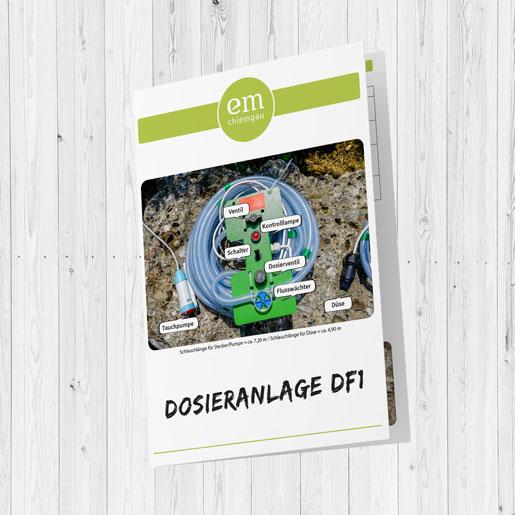 Flyer Dosieranlage Cover