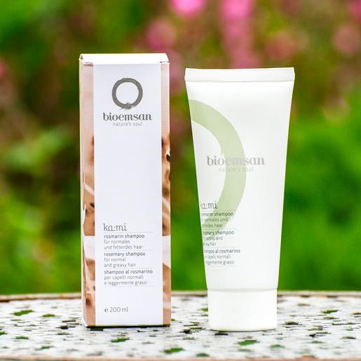 bioemsan Shampoo rosmarin in der 200 ml Tube für gesundes und schönes Haar