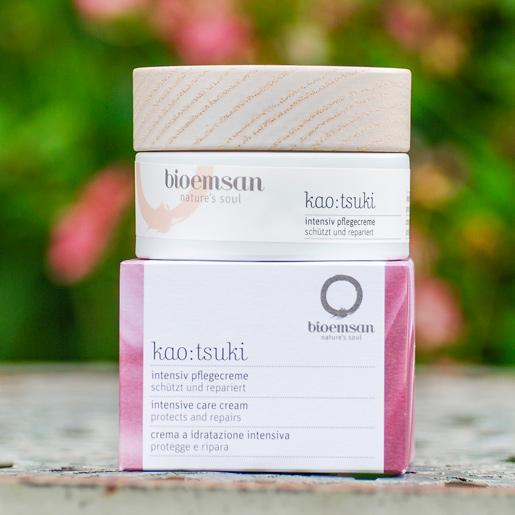 bioemsan kao tsuki intensiv pflegecreme im 50 ml Tiegel, reichhaltige Pflege für jeden Hauttyp