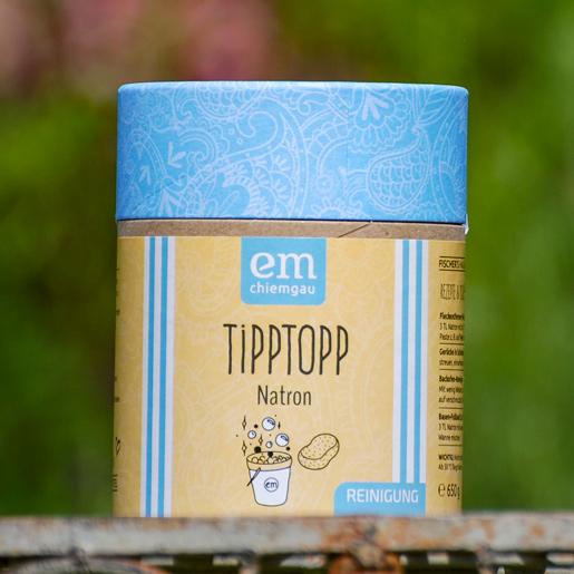 Tipp Topp Natron in der 650 g Pappdose vielseitig und umweltfreundlich einsetzbar von Fischers Hausmittel