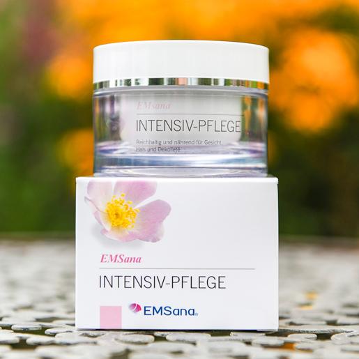 EMSana reichhaltige Intensiv-Pflege Creme im 50 ml Tiegel mit Karton