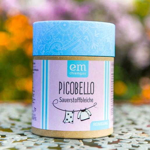 Picobello Sauerstoffbleiche in der 600 Gramm Pappdose bei Fischers Hausmittel